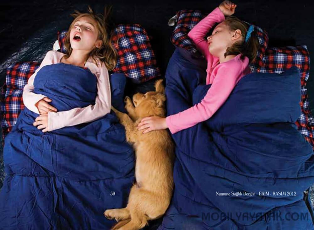 Çocuklarda tıkayıcı uyku apnesi