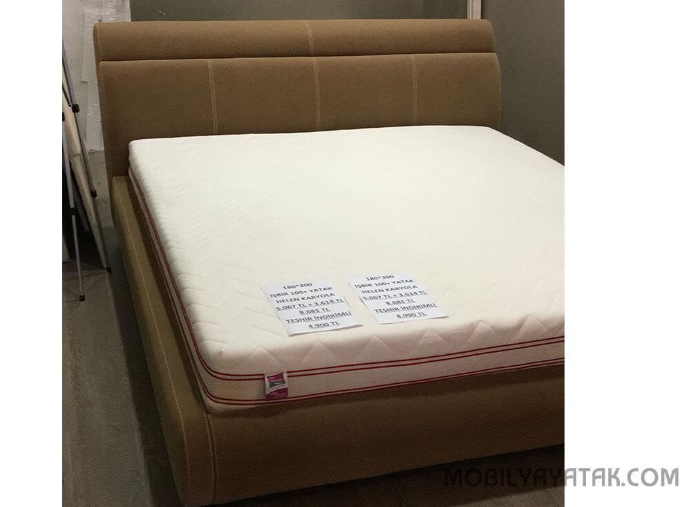 Teşhirden indirimli işbir yatak karyola