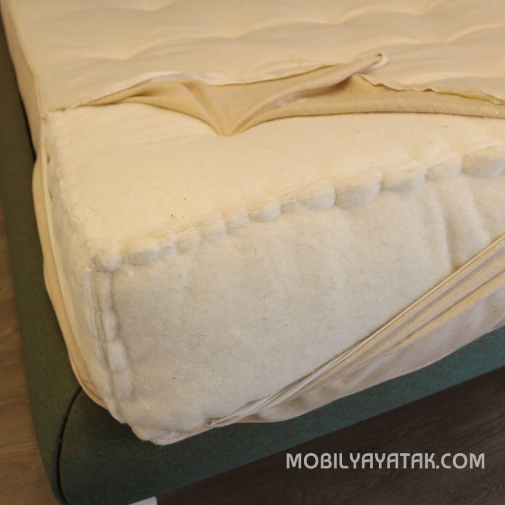 Organik el yapımı doğal yatak