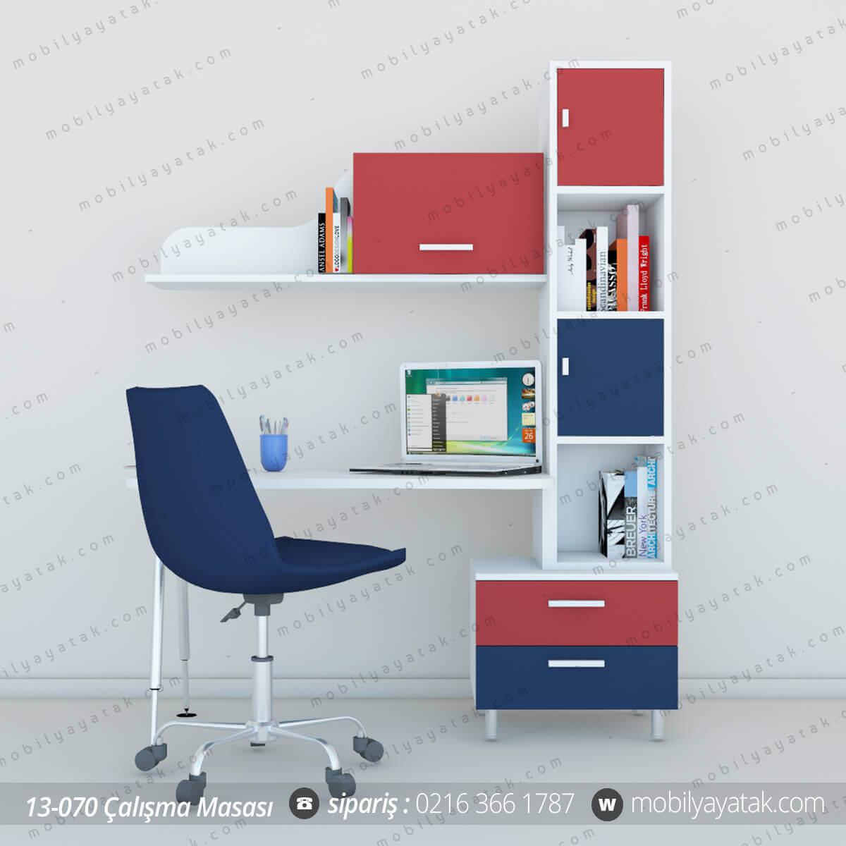 199 Ocuk Odası 199 Alışma Masası Kitaplık Mobilya Yatak