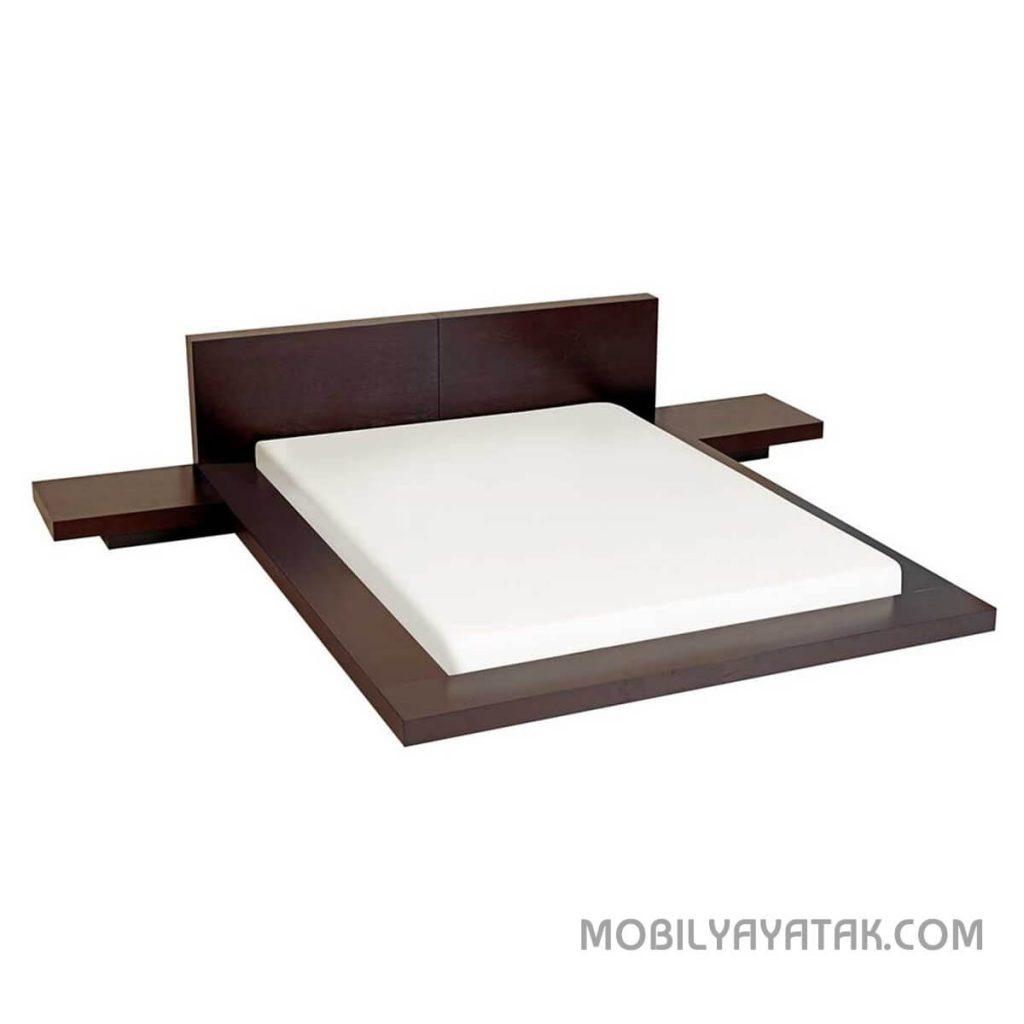 Ahşap venge yatak modelleri 2019