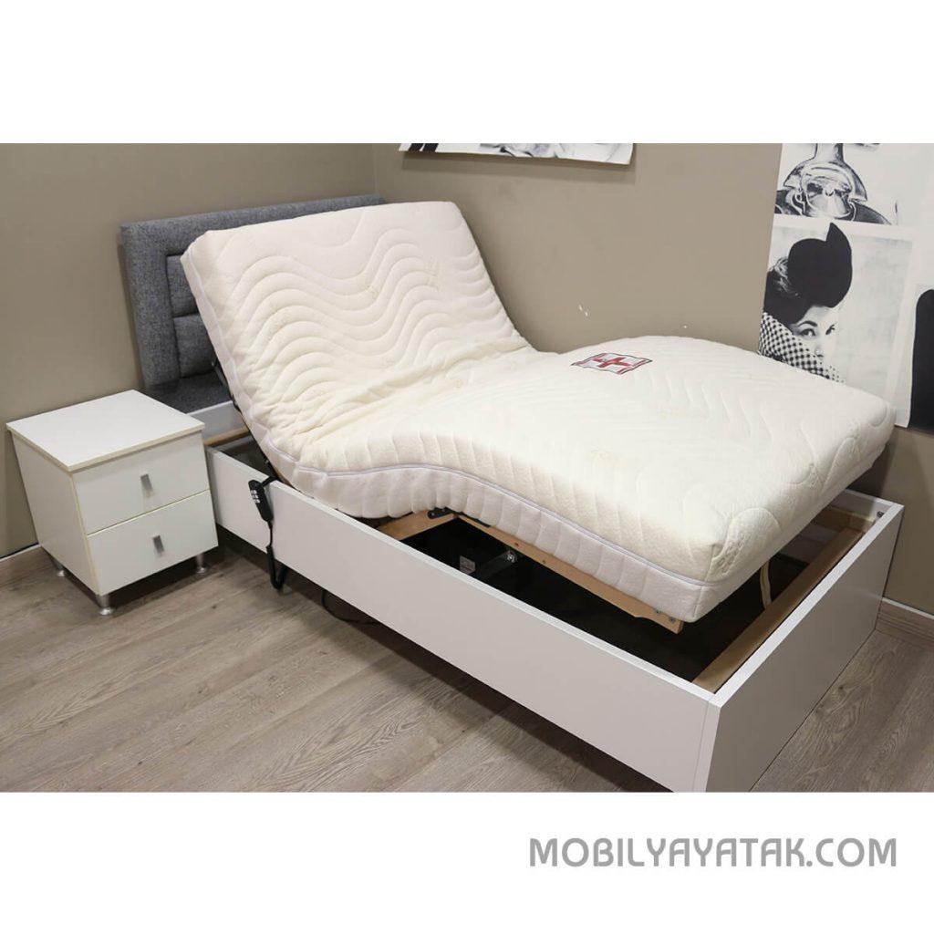 Hasta yatağı hareketli