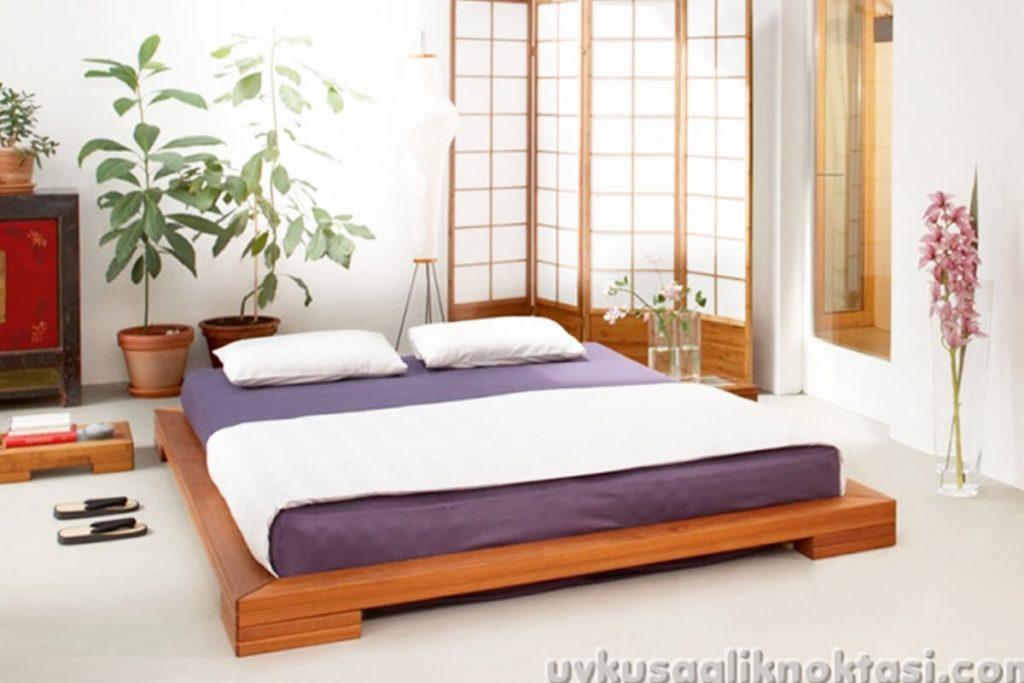 Yere bitişik yatak modelleri 2019-1