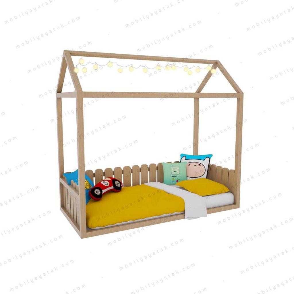 Montessori çocuk yatağı