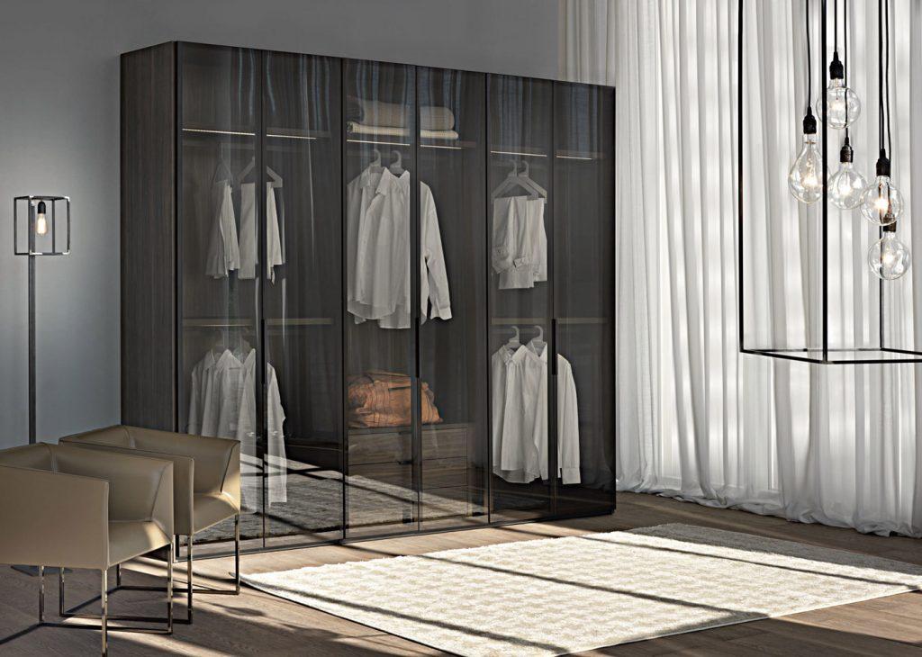 Reflekte cam kapılı gardrop modelleri